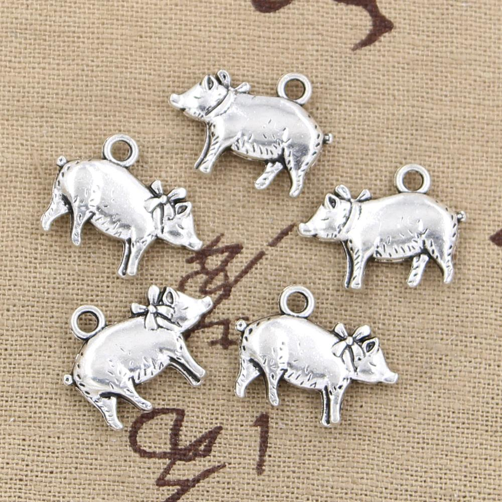 Piglet  Charm FREE SHIPPING