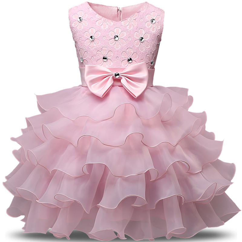 9a0966b1d9ae Girl Dress 2017 Sleeveless Kid Dresses Girls Clothes Party Princess ...