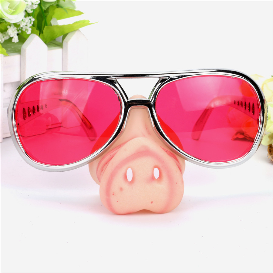 Fake Pig Nose Fancy Dress up Costume Props Fun Party Favors Cosplay ...