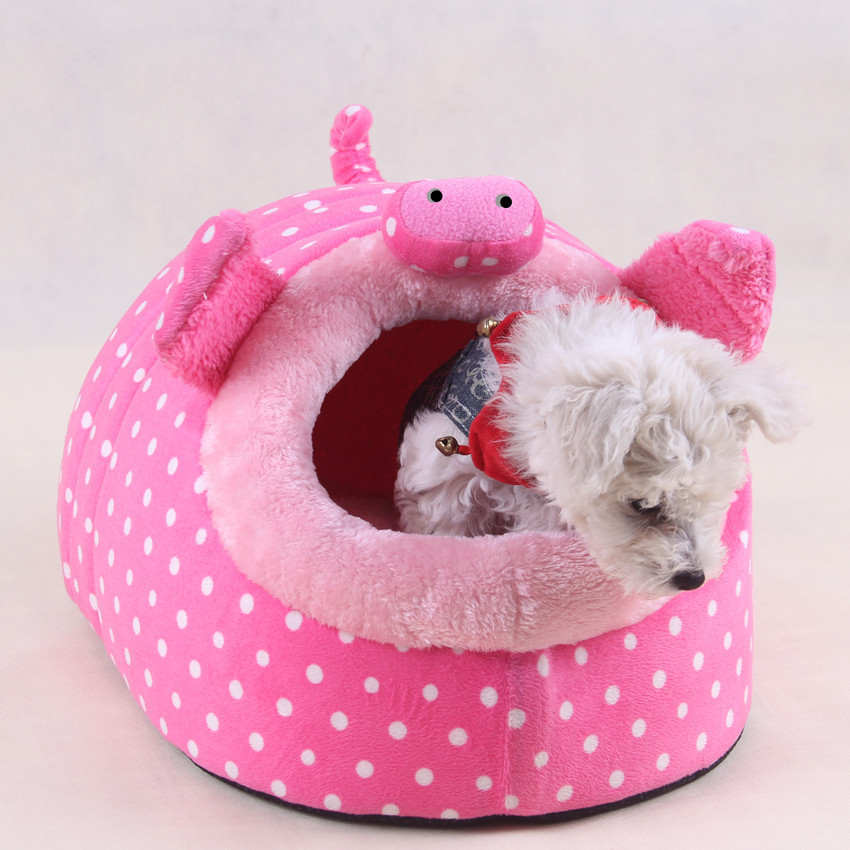 Funny Pig Soft Small Pet Dog Cat Sofa Bed Pet House